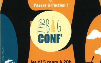 Jeudi 5 Mars – Conférence de sensibilisation sur l'énergie et le climat
